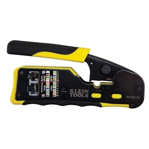 Klein Tools Pass-Thru Modular Crimper Pass-Thru Modular Crimper