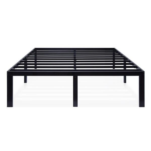 Sleeplanner Black Metal 16-inch Platform Bed Frame. Opens flyout.