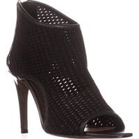 Donald J Pliner Ashlyn Peep-Toe Booties, Black