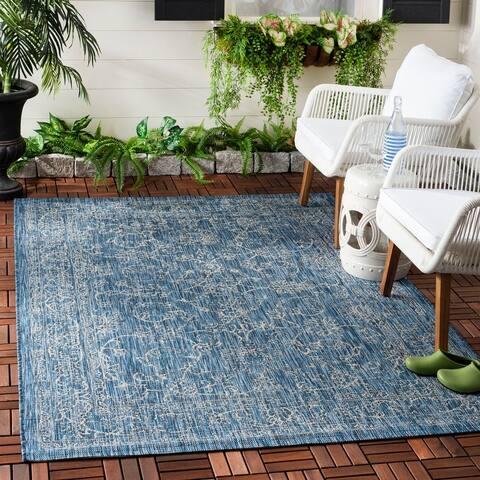 Safavieh Courtyard Aquata Indoor/ Outdoor Rug