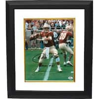Chris Rix signed Florida State Seminoles 8x10 Photo Custom Framed