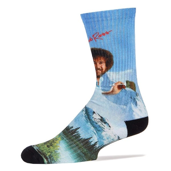 e26ffa4fbcc Shop Bob Ross Basics Socks - Free Shipping On Orders Over  45 - Overstock -  23581734