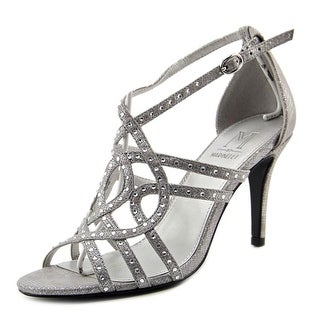 M by Marinelli Sparkle   Open Toe Canvas  Sandals