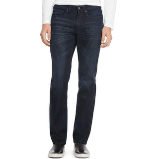 Kenneth Cole Reaction Mens Straight Leg Jeans Denim Low Rise
