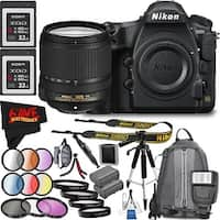 Nikon D850 DSLR Camera (Body Only) 1585 International Model + Nikon AF-S DX NIKKOR 18-140mm f/3.5-5.6G ED VR LensBundle