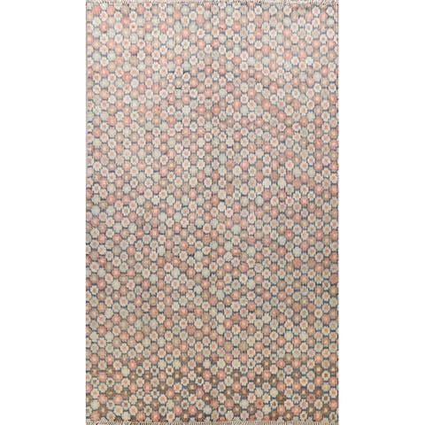 "Modern Moroccan Oriental Area Rug Wool Handmade Living Room Carpet - 10'4"" x 14'0"""
