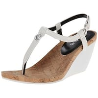 Ralph Lauren Womens REETA Split Toe Casual T-Strap Sandals
