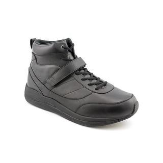 Drew Pulse Men Round Toe Leather Sneakers