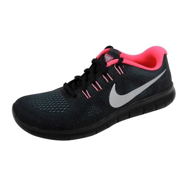 Nike Women's Free RN 2017 Anthracite/Metallic Silver 880840-006