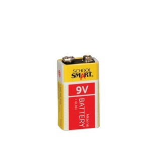 School Smart Alkaline Battery, 9 V