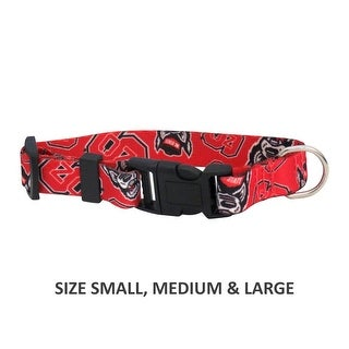 NC State Wolfpack Pet Nylon Collar - Small
