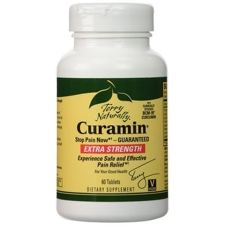Terry Naturally Curamin Extra Strength Stop Pain Now - 60 Tablets - Clinically studied