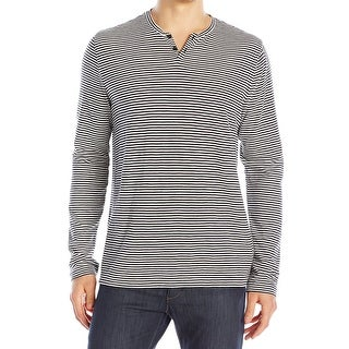 Reaction Kenneth Cole NEW Black Mens Size XL Stripe Button Down Shirt