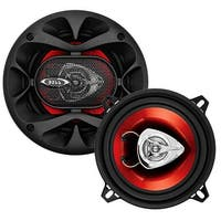 "Boss 5-1/4"" Speaker 2-Way red poly injection cone"