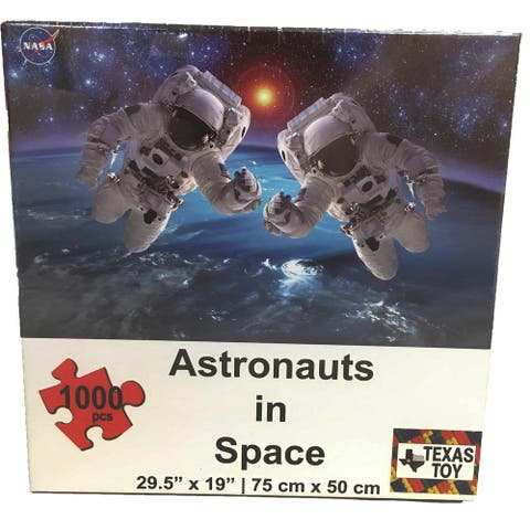 Astronauts in Space 1000-pc Cardboard NASA Puzzle High Quality 2mm thick
