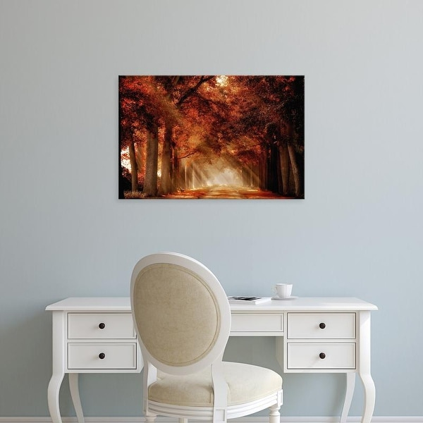 Easy Art Prints Lars Van de Goor's 'A Seat Not Taken' Premium Canvas Art