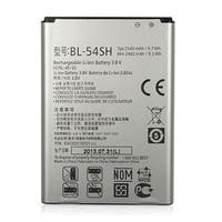 Replacement Battery 2500mAh for LG BL-54SH / EAC62018201 Models