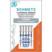 Schmetz Chrome Universal Machine Needles-Size 80/12 5/Pkg