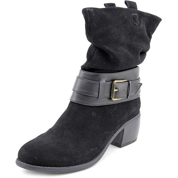 Kenneth Cole Reaction Curve Ball Round Toe Suede Ankle Boot