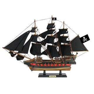 26 in. Wooden Captain Kidds Adventure Galley Sails Limited Model