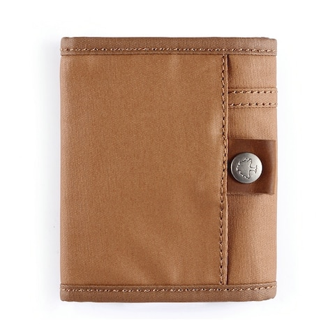 TSD Brand Urban Light Coated Canvas Wallet - Small
