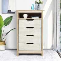 Overstock.com deals on Multi Drawer Cabinet Modern Bookcase Organizer Unit w/Shelves