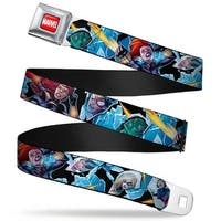 Marvel Universe Marvel Full Color Red White 6 Women Of Marvel Action Poses Seatbelt Belt