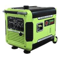 3500 Watt Digital Portable Inverter Generator w/Electric Start, CARB