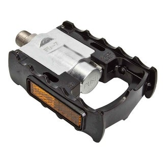 MKS Pedals Folding Fd-7 Alloy 9/16 Black - FD-7 Black
