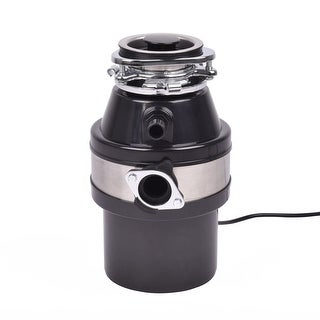 Costway 1.0HP 2600RPM Garbage Disposal Continuous Feed Home Kitchen Food Waste Disposer