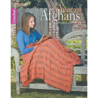 Leisure Arts-A Year Of Afghans Book 16