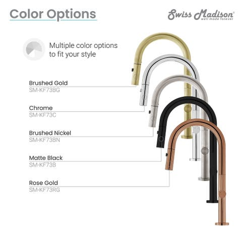 Chalet Single Handle, Pull-Down Kitchen Faucet