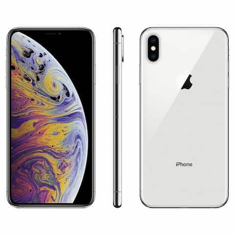 Apple iPhone XS 256GB Silver Verizon + GSM Unlocked Refurbished Smartphone
