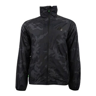 Polo Sport Men's Camouflage Windbreaker (M, Black Multi) - Black Multi - M