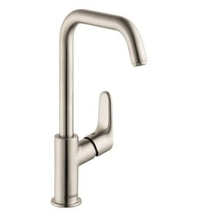 Hansgrohe 31609 Focus Single Hole Bathroom Faucet with EcoRight, Quick Clean, and ComfortZone Technologies - Drain Assembly