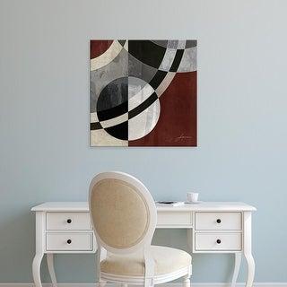 Easy Art Prints James Burghardt's 'Concentric Squares III' Premium Canvas Art