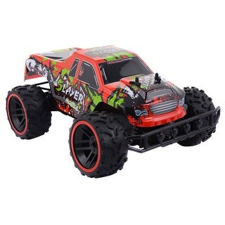 Costway RC Car Super High Speed Remote Control Sport Racing Buggy RTR - as pic
