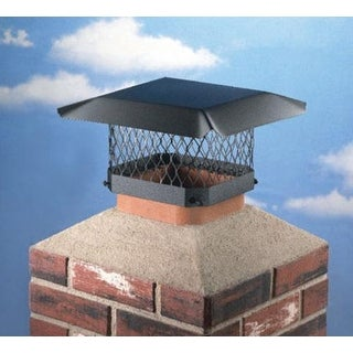 "Hy-C SC99 Black Chimney Cap, 9"" x 9"""