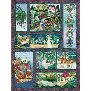 Outset Media OM52111 Jigsaw Puzzle 500 Pieces 24 x 18 in. Full Bloom