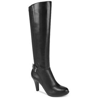 Alfani Womens Vennuss Closed Toe Over Knee Fashion Boot
