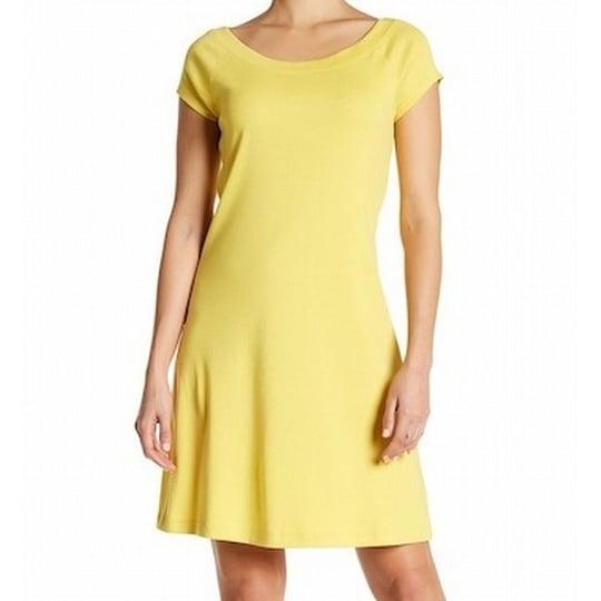 8b738259 Shop Catherine Malandrino NEW Yellow Womens Size XS Boat Neck Sheath Dress  - Free Shipping On Orders Over $45 - Overstock.com - 18653738