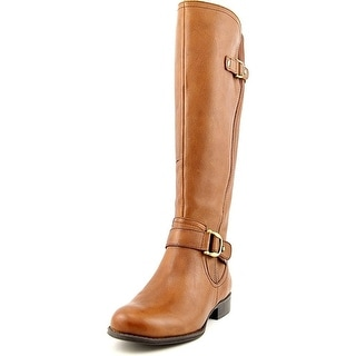 Naturalizer Jersey Wide Calf Leather Knee High Boot