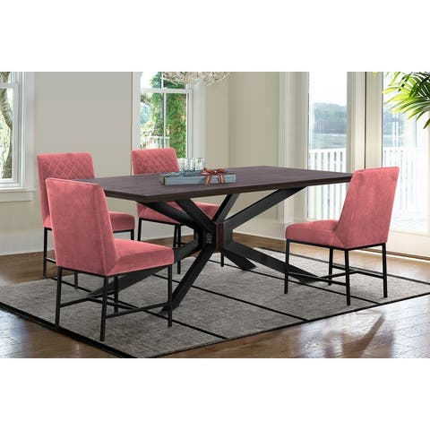 Pirate and Napoli 5 Piece Modern Dining Room Set
