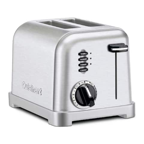 Cuisinart 2 Slice Metal Classic Toaster - Brushed Chrome