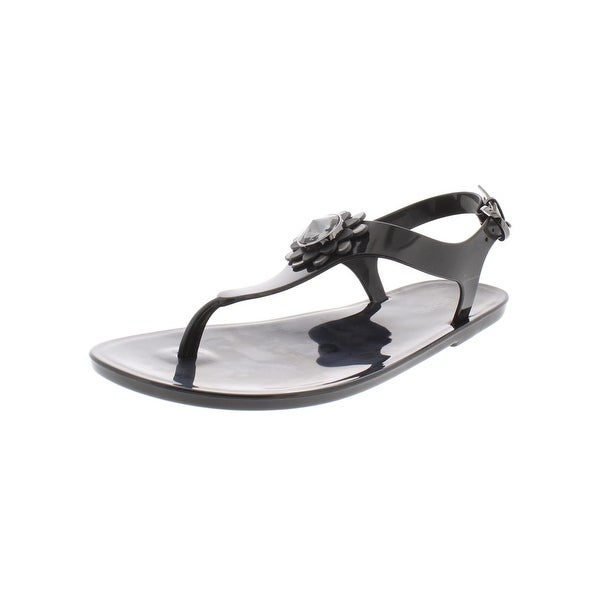 5949e7a26 Shop MICHAEL Michael Kors Womens Miley Thong Sandals Jelly Slingback - 7  Medium (B