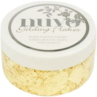 Nuvo Gilding Flakes 6.8oz-Radient Gold