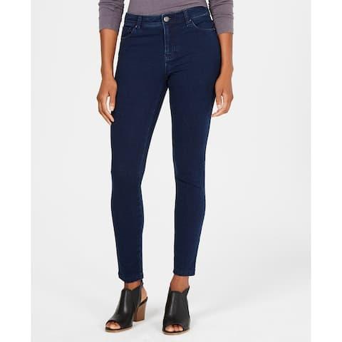 Style & Co Women's Ultra-Skinny Ponte Pants Galaxy Wash Size 14 - Blue