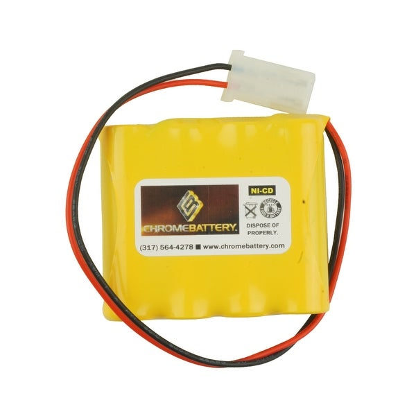 Emergency Lighting Replacement Battery for Interstate - NIC0546