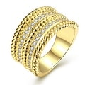 Gold Trio- Layered Ring - Thumbnail 0