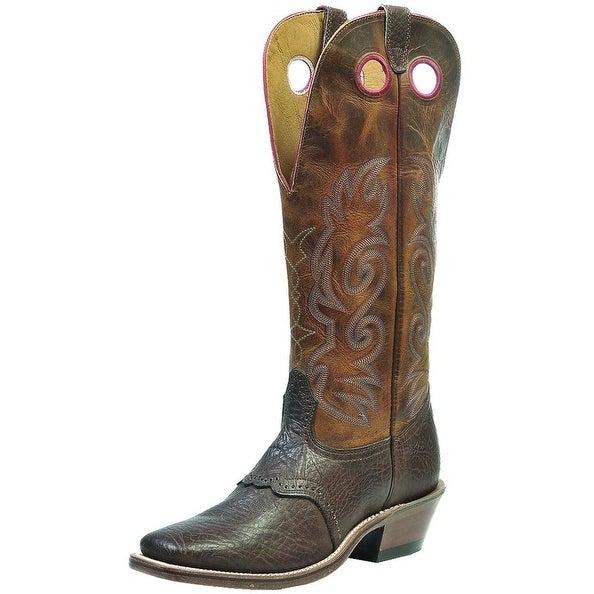 Boulet Western Boots Mens Buckaroo Shoulder Buffalo Bill Matte